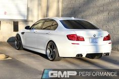 Read More About What do you think; is the BMW M5 the perfect everyday car? Our friends at GMP Performance equipped Alan's BMW F10 M5 with Dinan high-performance adjustable coilovers and installed this set of 21x9.5 &...