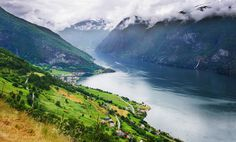 https://flic.kr/p/jirJwm   Aurlands Fjord, Norway   Explored #4 on Jan. 19th, 2014 Sognefjord, Norway Getty Images Collection  Norway's longest and deepest fjord, the Sognefjord is a geologic and panoramic marvel. The terrain soars upward from the watery depths of the North Atlantic, and many waterfalls punctuatue its edges with spray. The area is accessible only between May 18 and September 15.  The average width of the main branch of the Sognefjorden is about 4.5 kilometres (2.8 mi)…