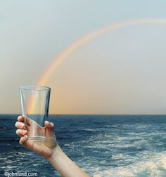 I'll have a glass of rainbows!