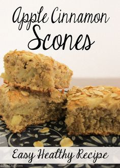 Quick Healthy Recipes: Easy Apple Oatmeal Scones - this delicious recipe has no refined sugar and used whole grain oats and coconut oil. Delicious and healthy!   http://brendid.com/quick-healthy-recipes-easy-apple-oatmeal-scones/