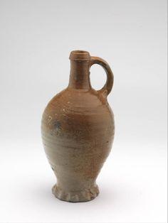 jug 1425 - 1475 Dimensions h. 26.1 x diam. 8.3 cm Material and technique stoneware, salt glaze