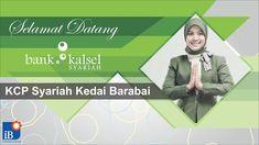 Bank Kalsel Syariah greeting slide design