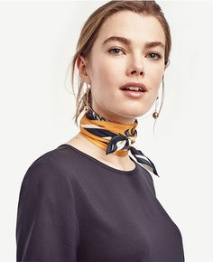 Neck scarves to elevate your outfit game