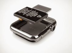 애플워치 분해 사진 첫 공개, 드러난 몇 가지 사실들 ~ 기백이의 맥가이버