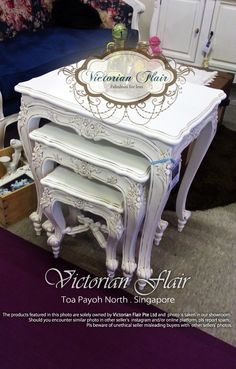 French / Victorian nesting tables