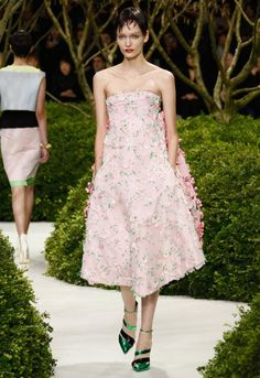 Dior creative director Raf Simons had never created haute couture before staring at Dior, but his aesthetic has gone down a storm.