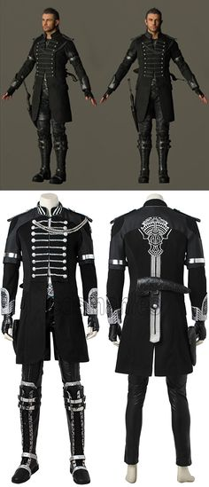 Kingsglaive Final Fantasy XV Nyx Ulric Cosplay Costume, Classic Halloween Cosplay Costume for Adult Women, Customized accepted Fantasy Costumes, Anime Costumes, Adult Costumes, Cosplay Costumes, Final Fantasy Xv, Nyx Ulric, Fantasy Wedding, Halloween Cosplay, Character Outfits