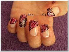 Zebra Print Nails Design Ideas imgf106b3c3c115622ad