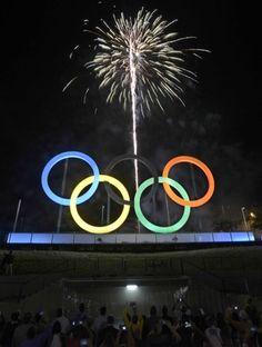 274e2d516 Rio inaugura monumento símbolo dos Jogos Olímpicos no Parque Madureira