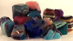 Soap Rock Tutorial - How to make gemstones using soap molds — Recipes & Tutorials Crafting Library