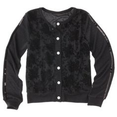 7de23ec383f59 Harajuku for Target® Girls  Cardigan - Black Christmas Outfits