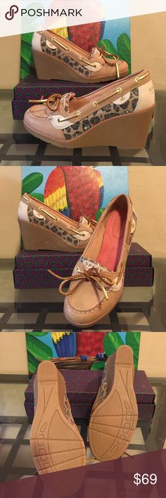 NL- NWOT Beautiful Sperry Top - Sider Pretty shoes size 7M, never worn Sperry Top-Sider Shoes Platforms