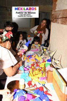 Manualidades de piñatas, libros infantiles en español y dibujos para colorear.