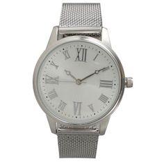 Olivia Pratt Women's Stainless Steel Mesh Bracelet Watch - 19942034 - Overstock.com Shopping - Big Discounts on Olivia Pratt More Brands Women's Watches