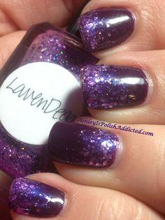 Cult Nails Vicious with Lynderella LavenDear Gradient