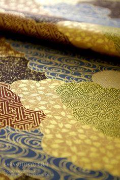 beautiful Japanese pattern fabric