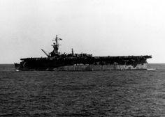 USS Belleau Wood (CVL-24) off Iwo Jima, 26 February 1945. (Source)