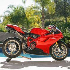 "Ducati Instagram on Instagram: ""Timeless By: Larry F. Griffiths Via: @cyclelaw #ducatistagram #ducati #1098r"""