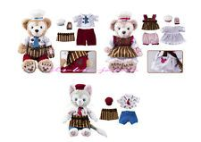 New 2015 Tokyo Disney Sea Sweet Duffy Duffy&Shellie may&Gelatoni Costume Set