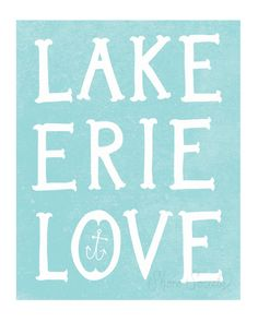 lake erie- need this 4 my room...