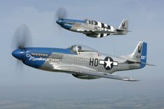 Flying Legends aircraft North American P-51 Mustang.