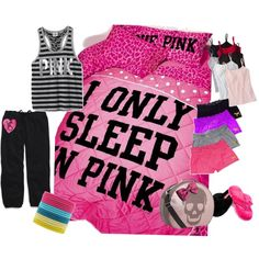 I only sleep in Pink Slumber Party
