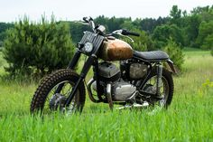 Dirty Magic Garage Baja Three Fifty Scrambler  based on the CZ 350