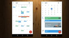 Android: For reasons unknown, Google removed the full Month view from Calendar on Android, opting instead for the condensed version seen above on the right. While Month view has always been clumsy, the new solution wasn't much better. Now the old one's back and Google has even improved it a bit.