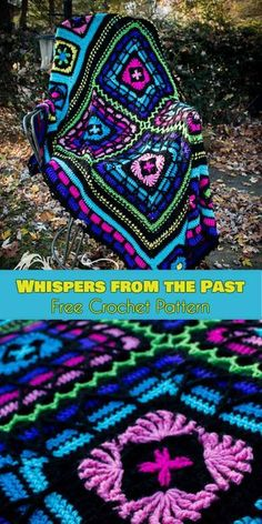 Whispers from the Past Blanket [Free Crochet Pattern]