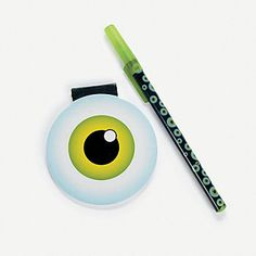 Eyeball Pen & Notepad Sets - Oriental Trading