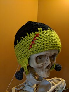 5553c50bf6f Frankenstein Earflap Hat pattern by To Craft A Home