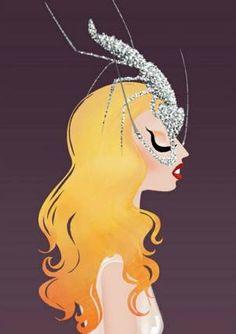 Lady Gaga's hair becomes art