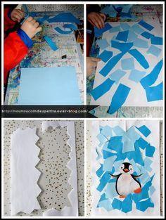 Mod le dessiner un pingouin la banquise pinterest dessin animaux polaires et dessins hiver - Apprendre a dessiner un pingouin ...