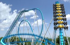 GateKeeper at Cedar Point of Sandusky, Ohio; Maximum Height: 170 ft Track Length: 4,163 ft Max Speed: 67 mph