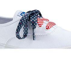 Keds Patriotic Shoe Laces