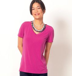 McCall's Misses' Tops 6964