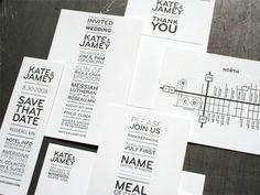 Pequena Noiva: Convites e papelaria
