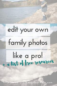 "ever wish there was a way you could make your own pictures go from ""eh"" to ""wow""??!! try this!! it is possible for anyone to learn how to edit their pictures"