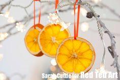How to... Make Dried Orange Slices & Craft Ideas