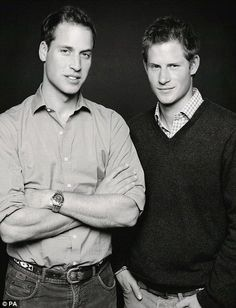I wonder if siblings Prince William and Harry are celebrating National Siblings day?