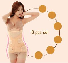 Support & Protective Gear Reasonable Dh Women Waist Trimmer Adjustable Postnatal Recovery Support Girdle Belt Nude Intimates & Sleep
