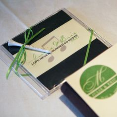 Custom golf tee wedding favors