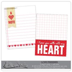 Free journaling cards for digital Project Life