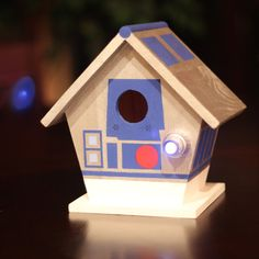 It's an R2-D2 birdhouse. What more could you want?