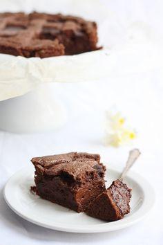 La ricetta della felicità-Crostata al cioccolato di E.Knam gluten free version