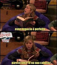 kkk...livros são perfeitos mesmo!!!