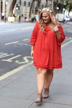 Loey Lane Peek of Lace Shift Dress (Sizes 16 - 26) - Society+ - Society Plus - Plus Size Fashion - 1