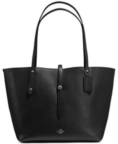 Coach Market Tote in Printed Leather
