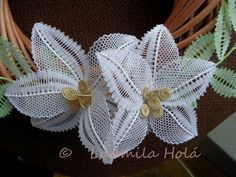 Bobbin Lace Patterns, Lacemaking, Needle Lace, Lace Flowers, Alphabet, How To Make, Inspiration, Bobbin Lace, Crocheting