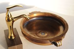 The brass washbasin to give an ancient touch and bring in timeless beautify to your house.  #washbasin #home #beauty To order this product visit https://www.capstona.com/